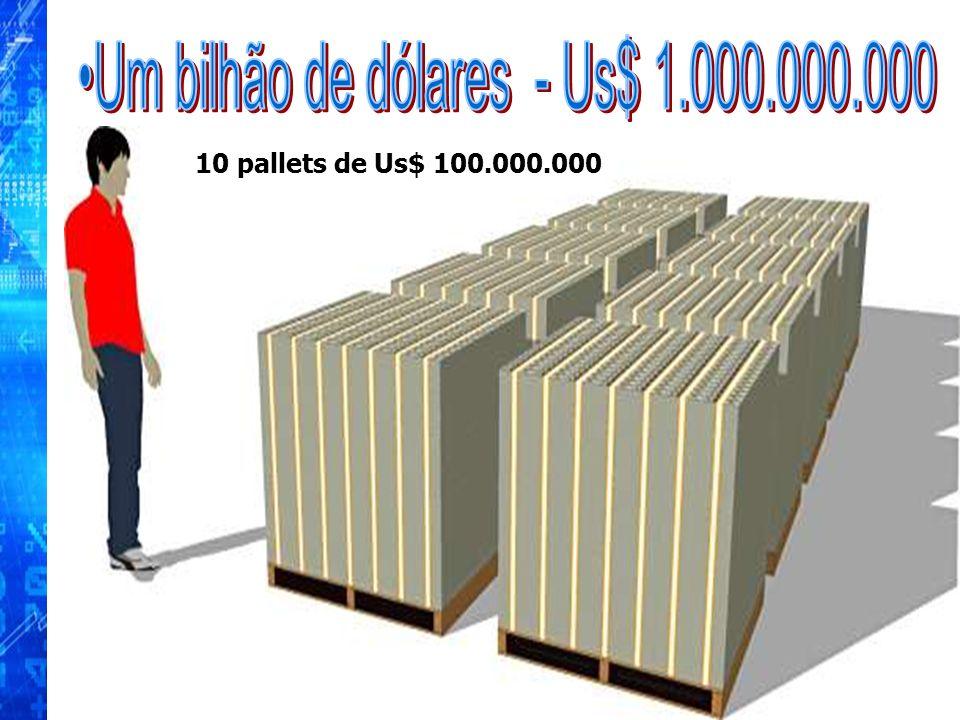 Um bilhão de dólares - Us$ 1.000.000.000