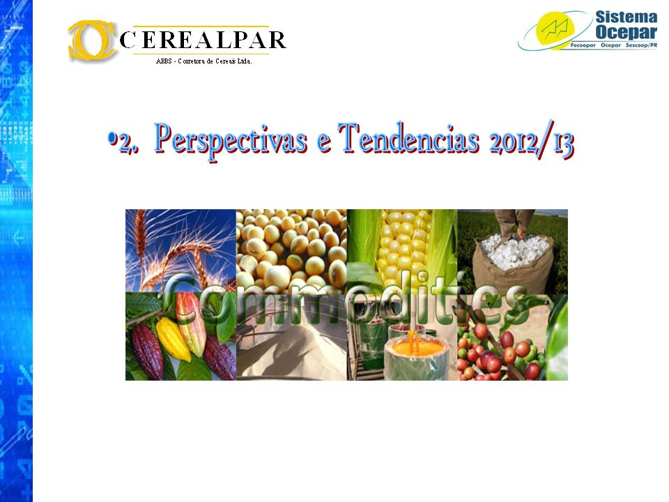 2. Perspectivas e Tendencias 2012/13