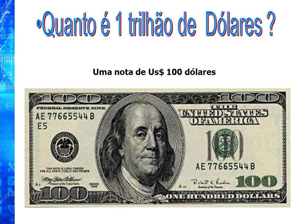 Quanto é 1 trilhão de Dólares