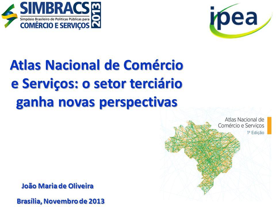 Atlas Nacional de Comércio e Serviços: o setor terciário ganha novas perspectivas