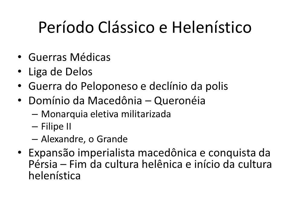 Período Clássico e Helenístico