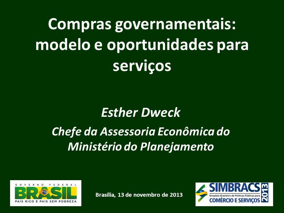 Compras governamentais: modelo e oportunidades para serviços