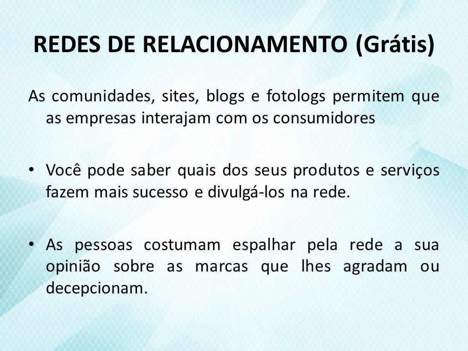 REDES DE RELACIONAMENTO (Grátis)
