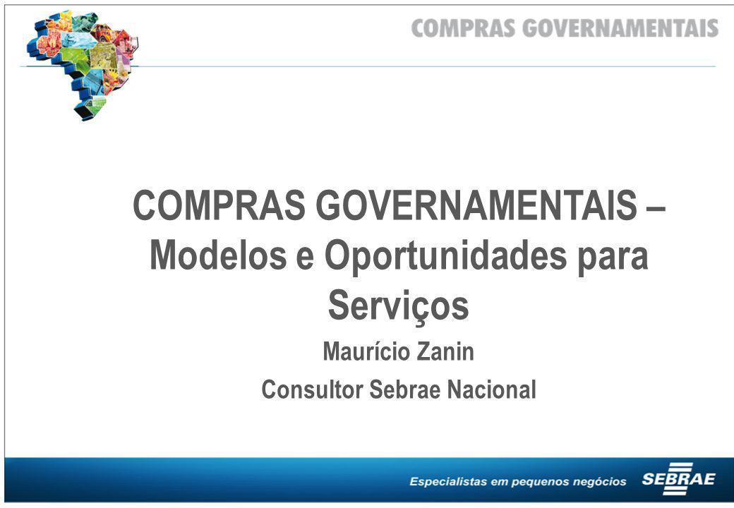 COMPRAS GOVERNAMENTAIS – Modelos e Oportunidades para Serviços