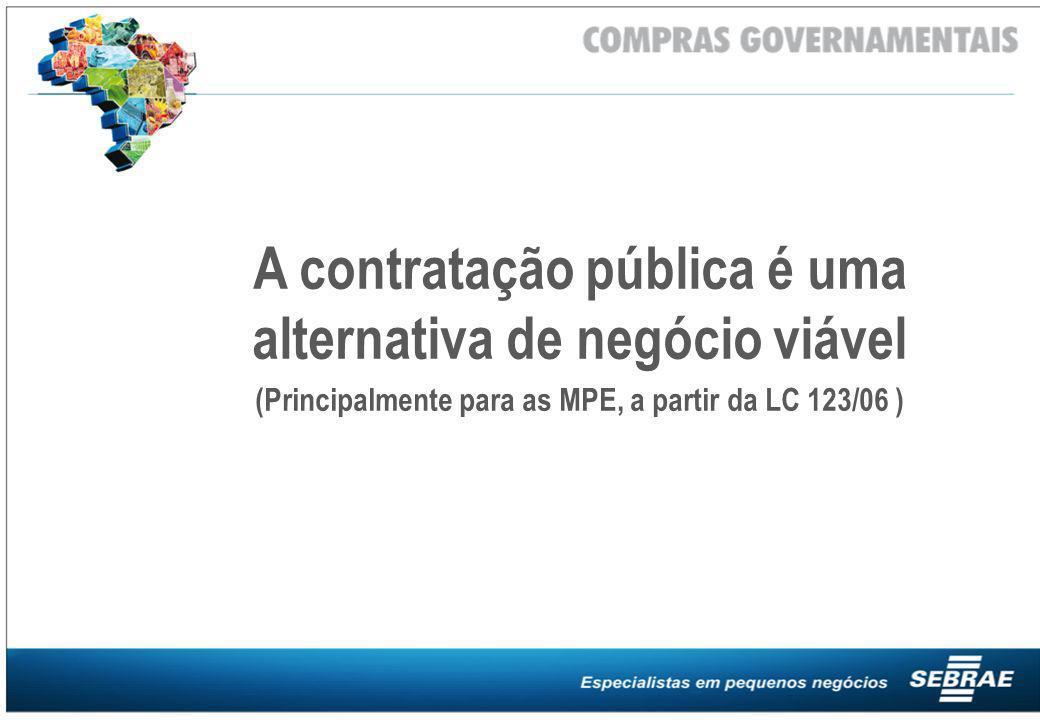 A contratação pública é uma alternativa de negócio viável