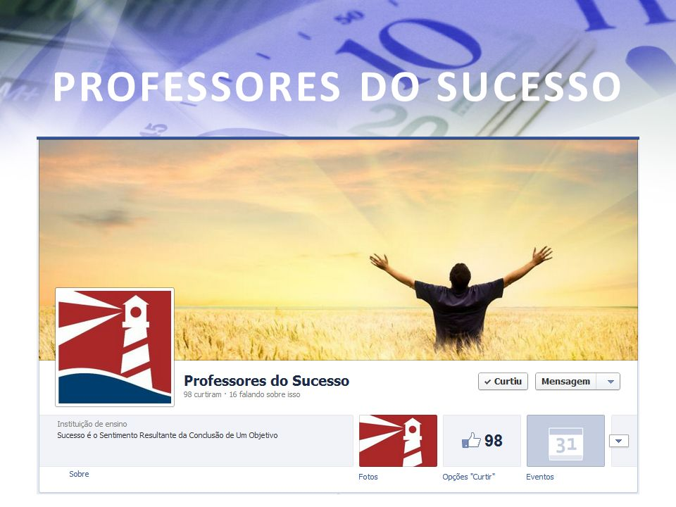 PROFESSORES DO SUCESSO