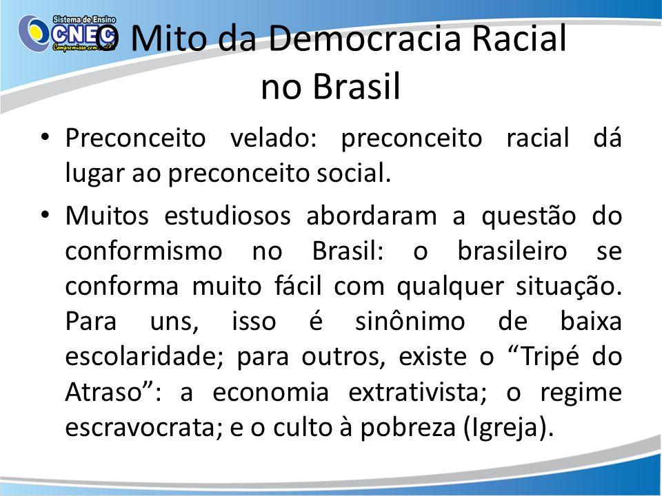 O Mito da Democracia Racial no Brasil