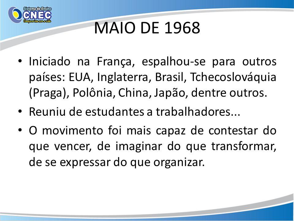 MAIO DE 1968