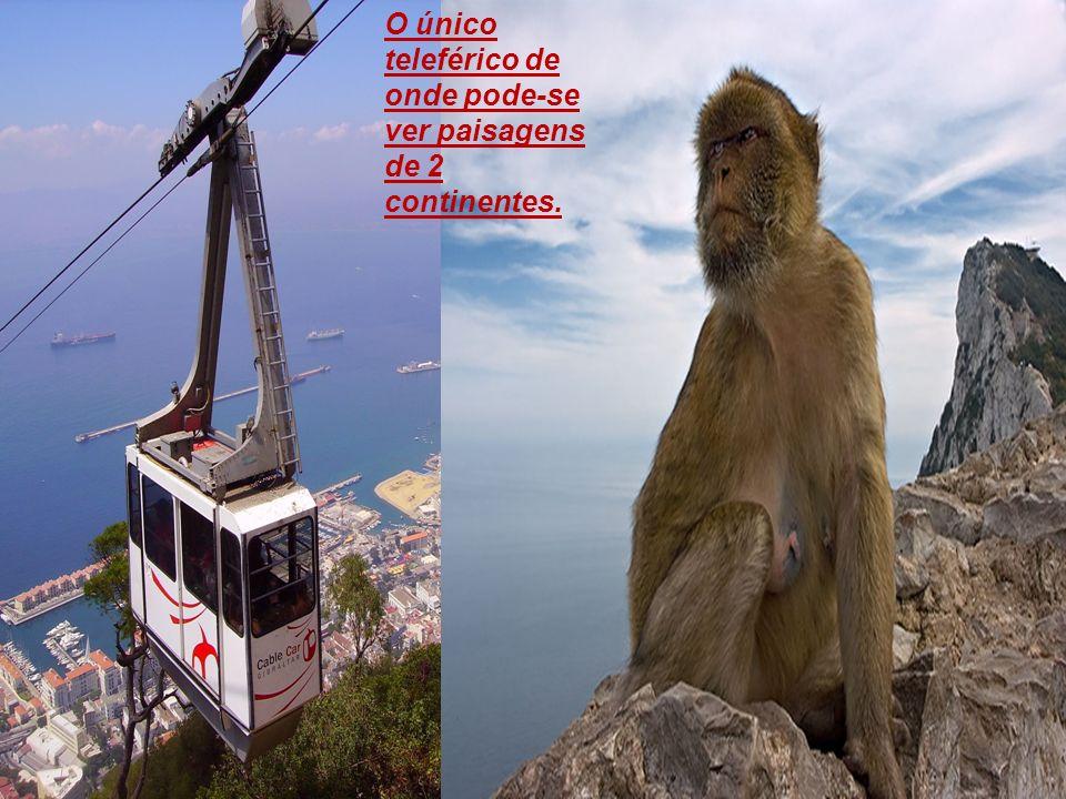 O único teleférico de onde pode-se ver paisagens de 2 continentes.