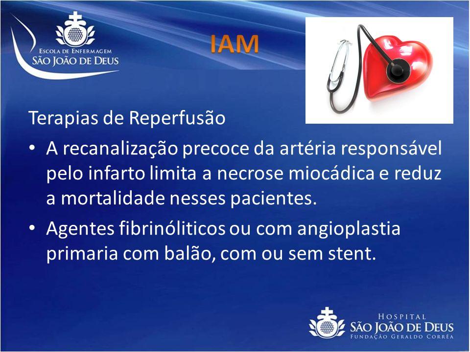IAM Terapias de Reperfusão