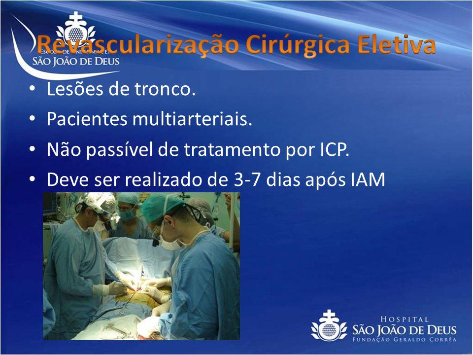 Revascularização Cirúrgica Eletiva