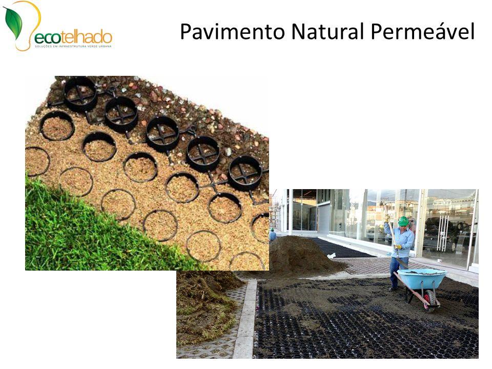 Pavimento Natural Permeável