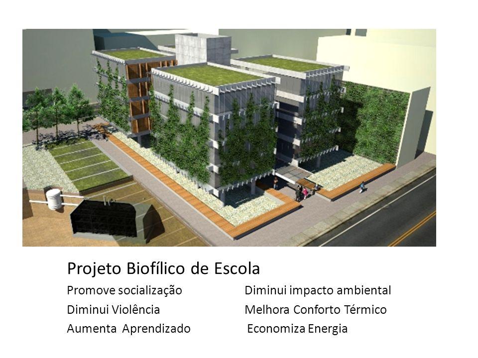 Projeto Biofílico de Escola