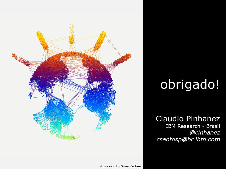 obrigado! Claudio Pinhanez IBM Research - Brasil
