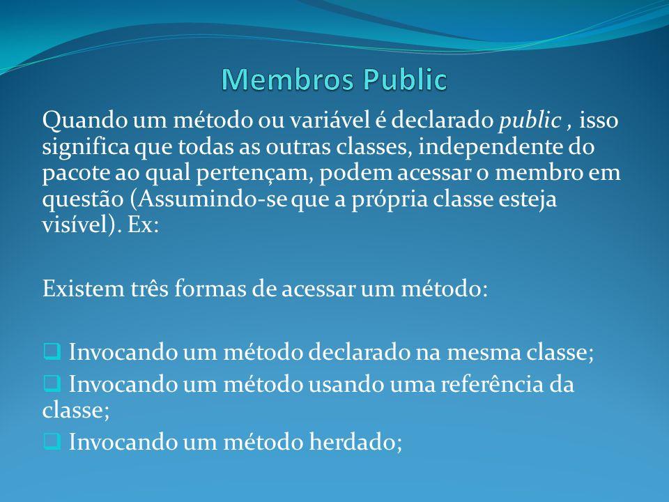 Membros Public