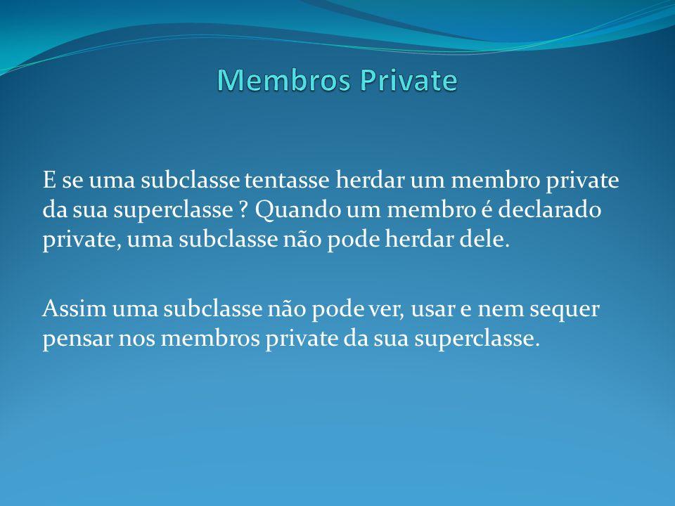 Membros Private