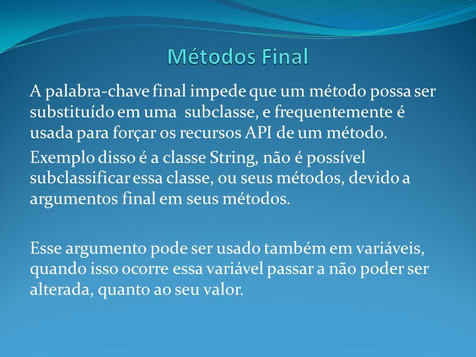 Métodos Final