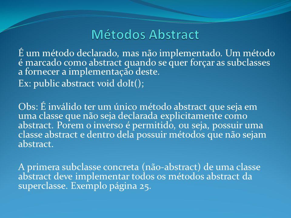 Métodos Abstract