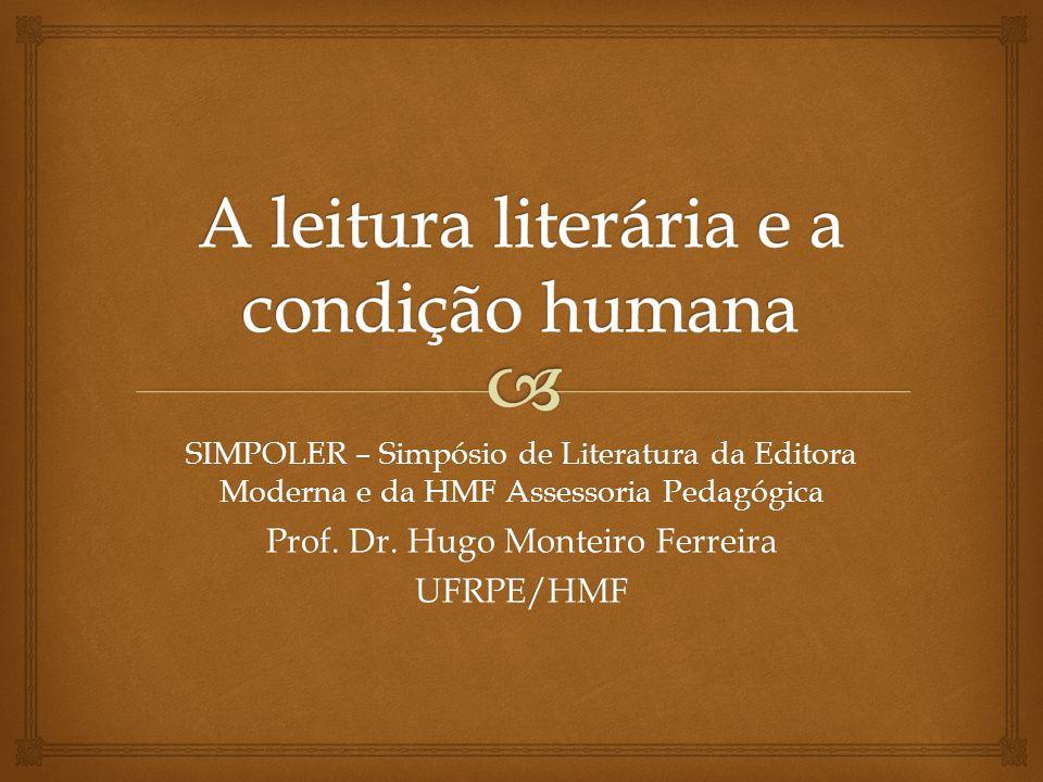 A leitura literária e a condição humana