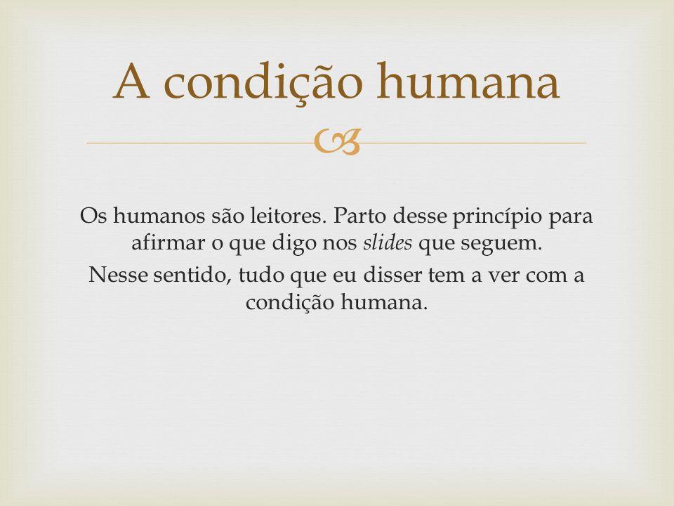 A condição humana