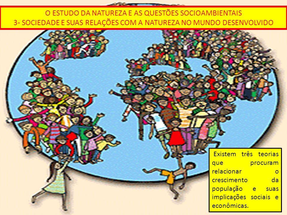 O ESTUDO DA NATUREZA E AS QUESTÕES SOCIOAMBIENTAIS