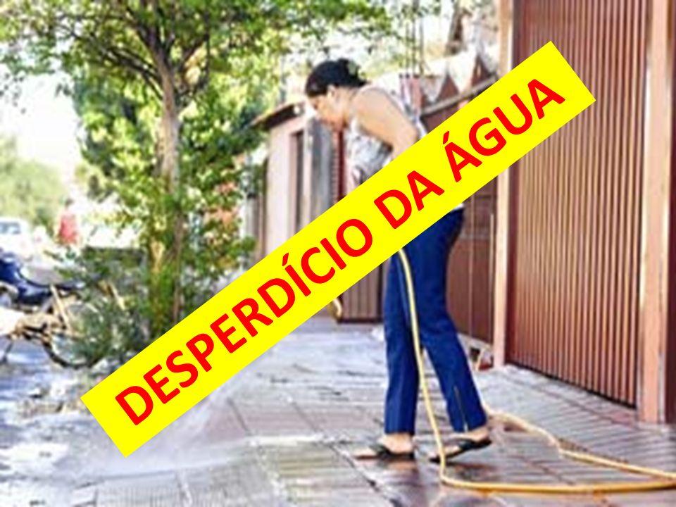 DESPERDÍCIO DA ÁGUA