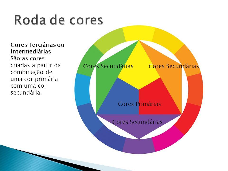 Roda de cores Cores Terciárias ou Intermediárias