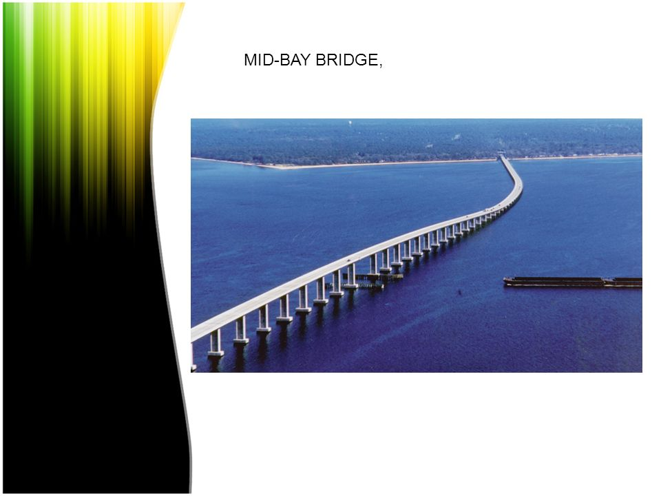 MID-BAY BRIDGE, FLORIDA, EUA, 1993