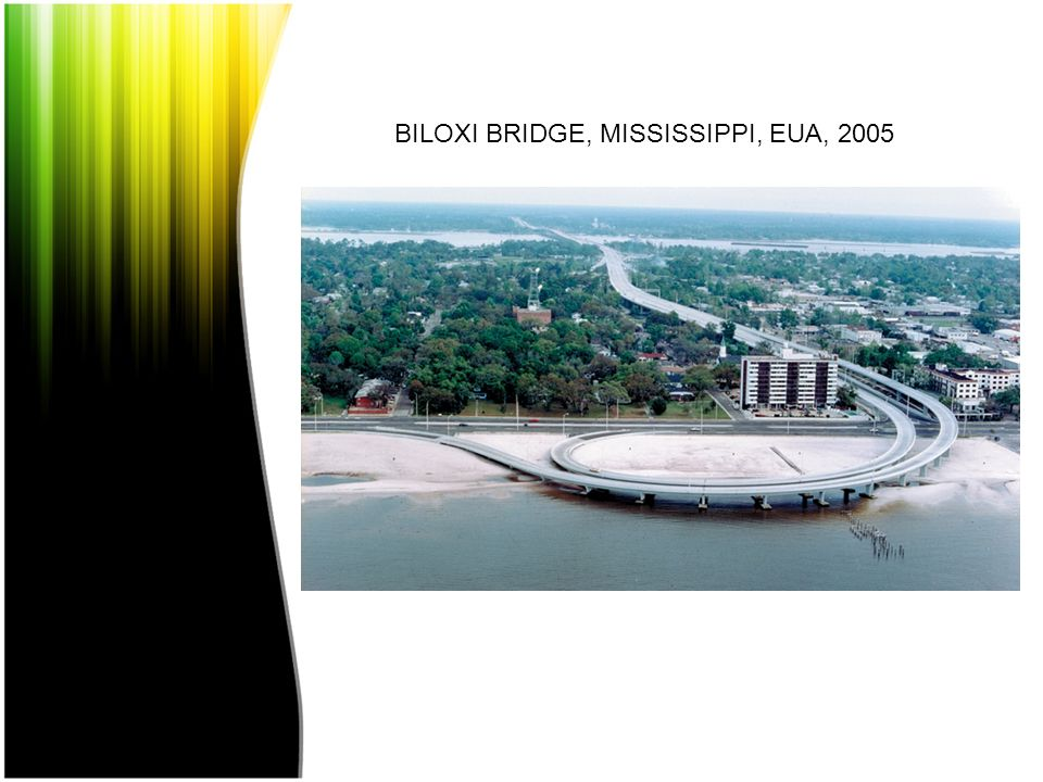 BILOXI BRIDGE, MISSISSIPPI, EUA, 2005