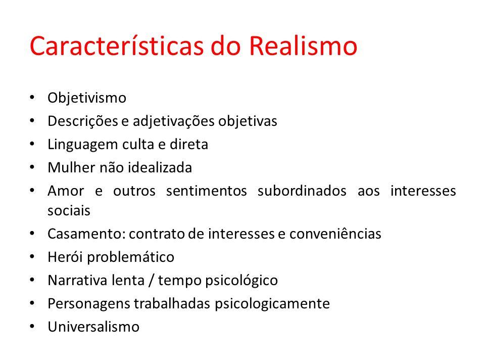 Características do Realismo