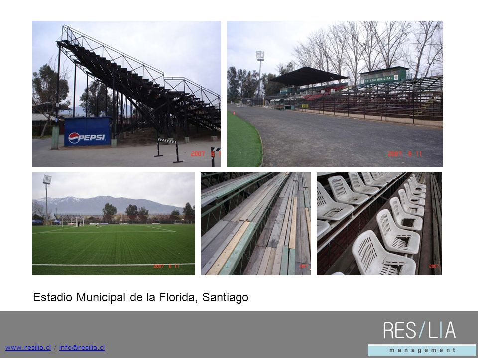 Estadio Municipal de la Florida, Santiago