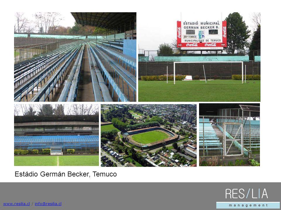Estádio Germán Becker, Temuco