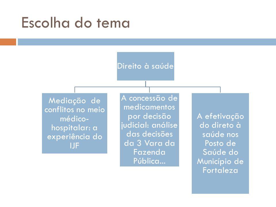Mediação de conflitos no meio médico-hospitalar: a experiência do IJF