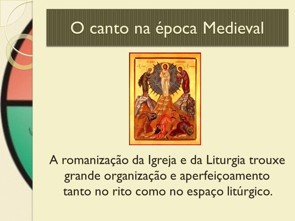 O canto na época Medieval