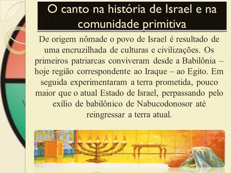 O canto na história de Israel e na comunidade primitiva