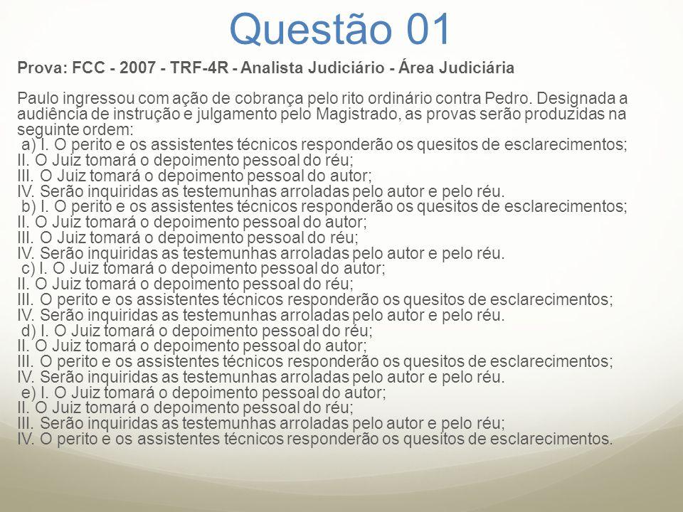 Questão 01