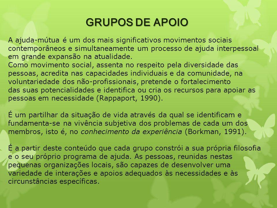GRUPOS DE APOIO