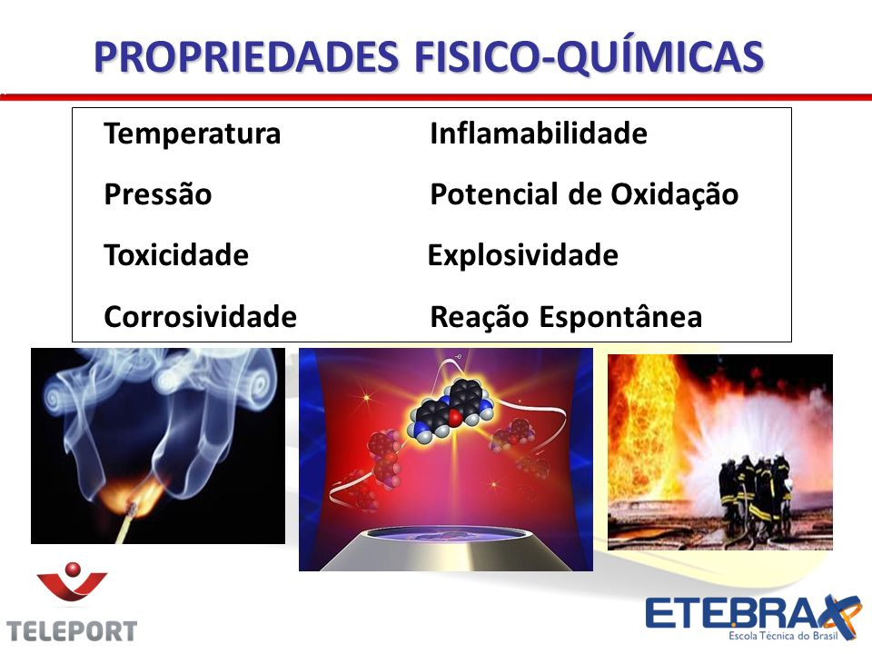 PROPRIEDADES FISICO-QUÍMICAS
