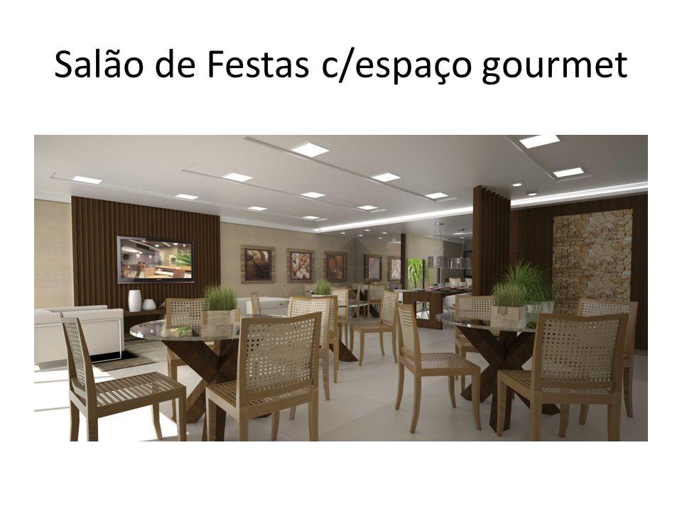 Salão de Festas c/espaço gourmet