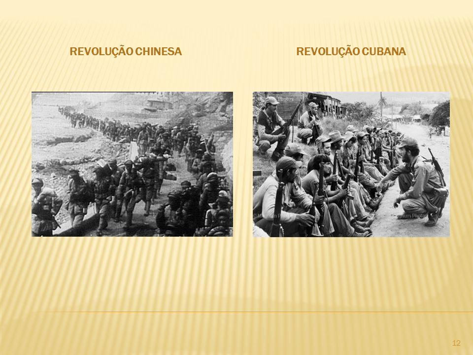 Revolução chinesa Revolução cubana