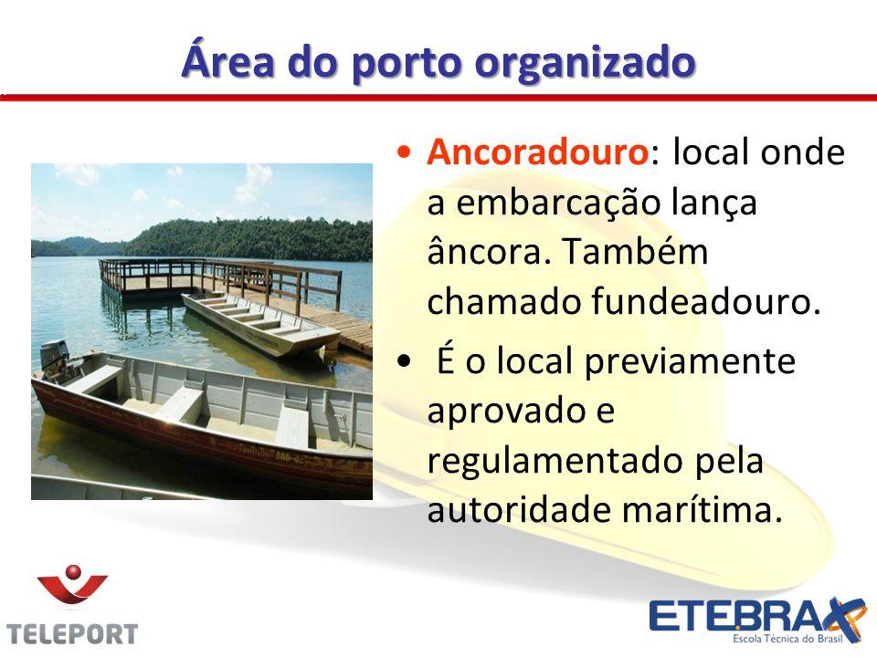 Área do porto organizado