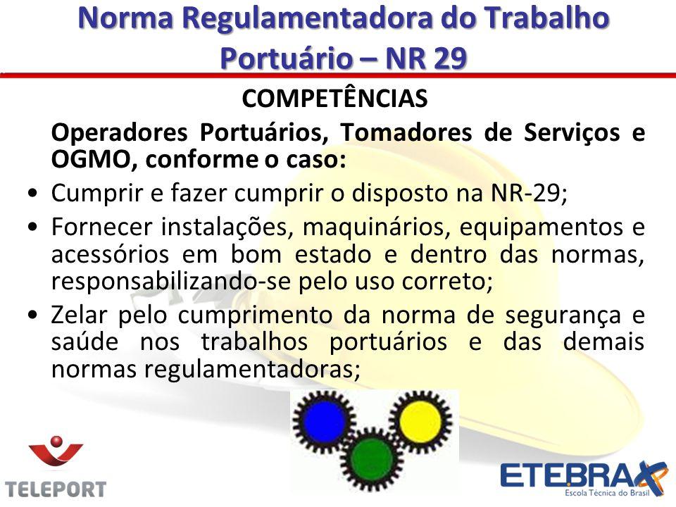 Norma Regulamentadora do Trabalho Portuário – NR 29