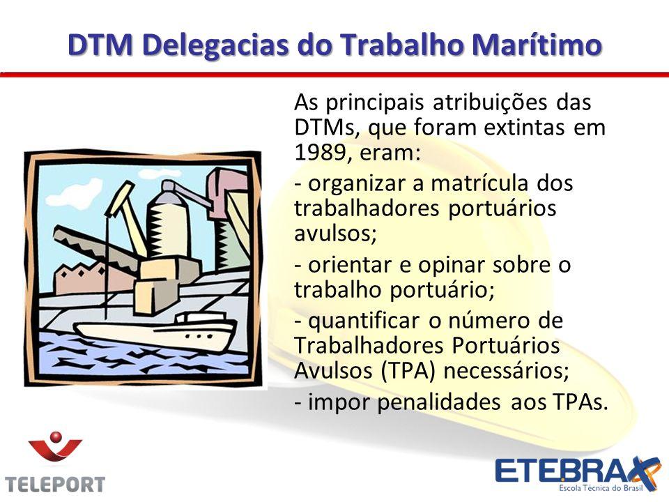 DTM Delegacias do Trabalho Marítimo
