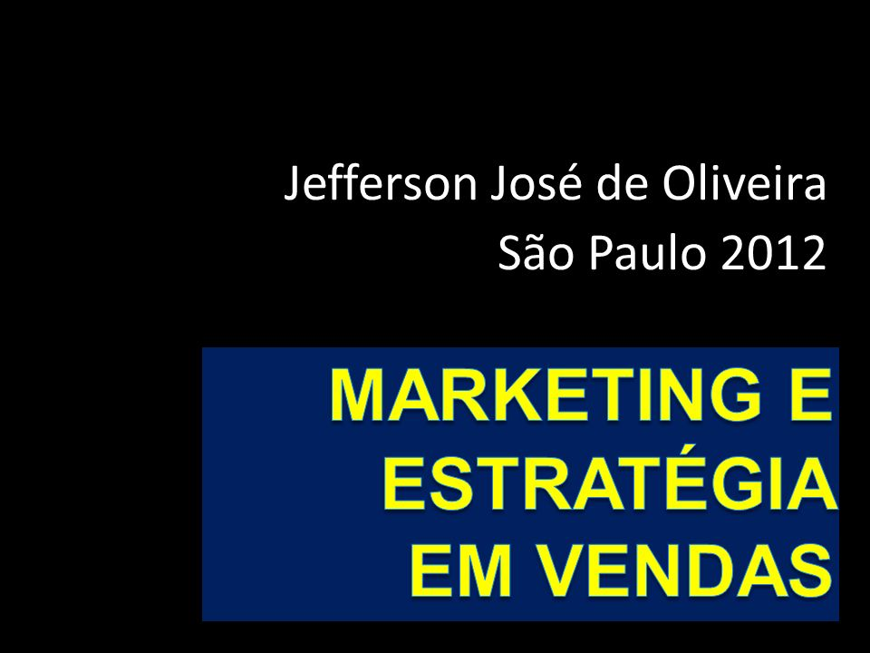 Marketing E ESTRATÉGIA em Vendas