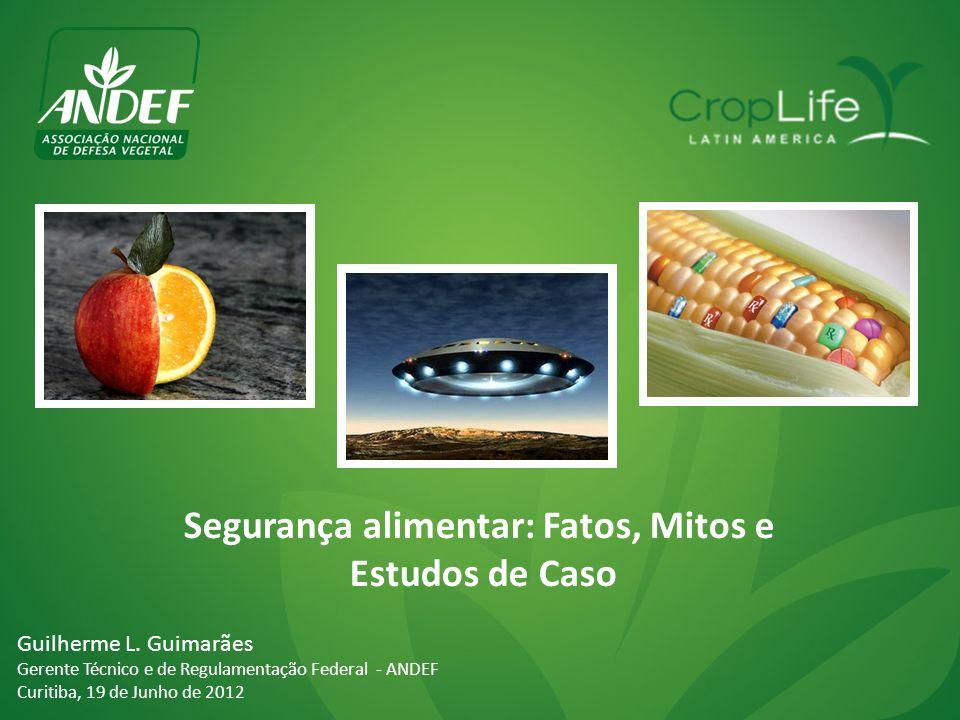 Segurança alimentar: Fatos, Mitos e