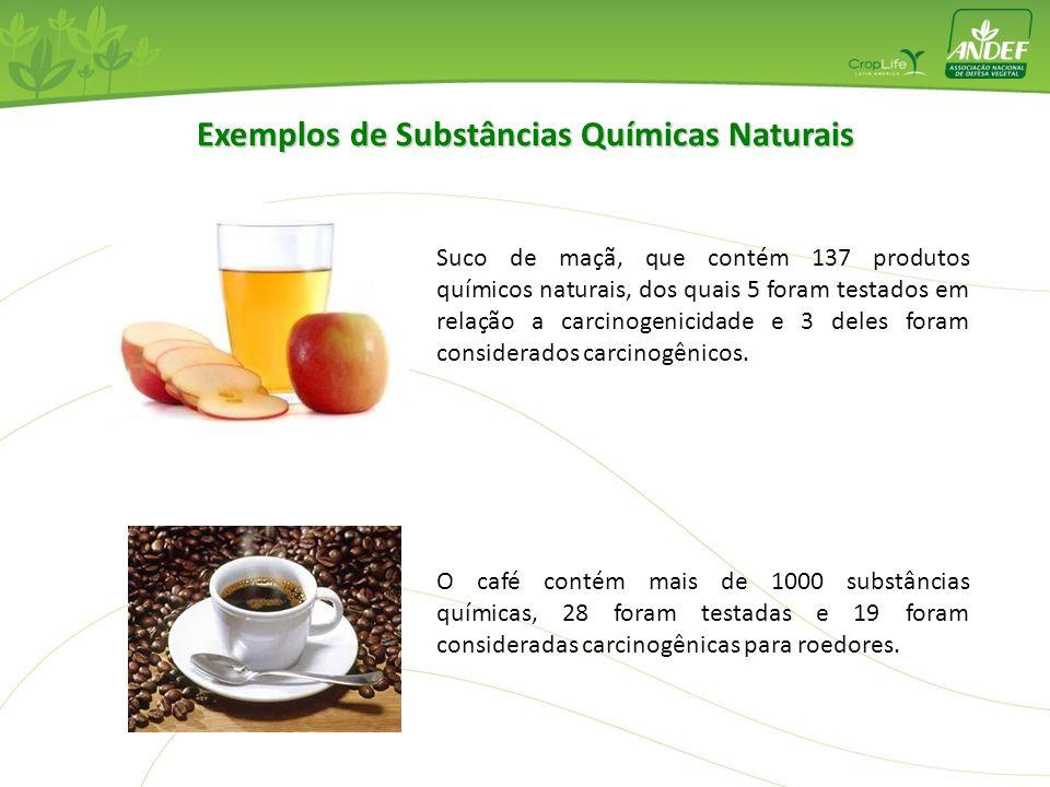 Exemplos de Substâncias Químicas Naturais