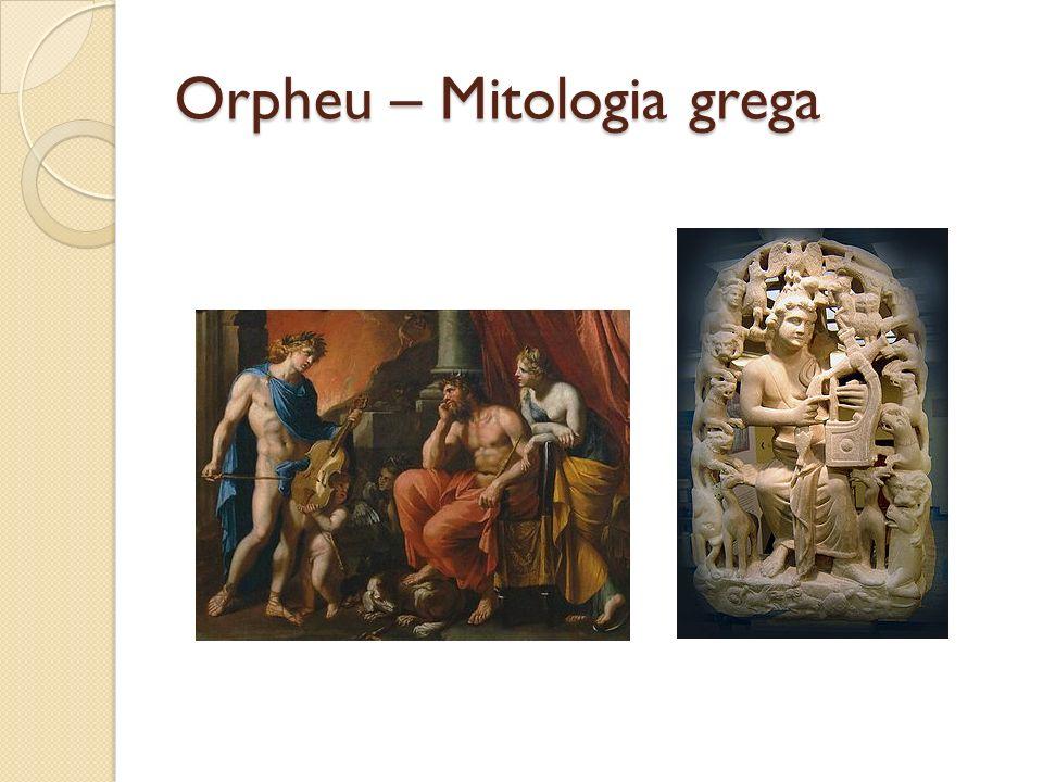 Orpheu – Mitologia grega