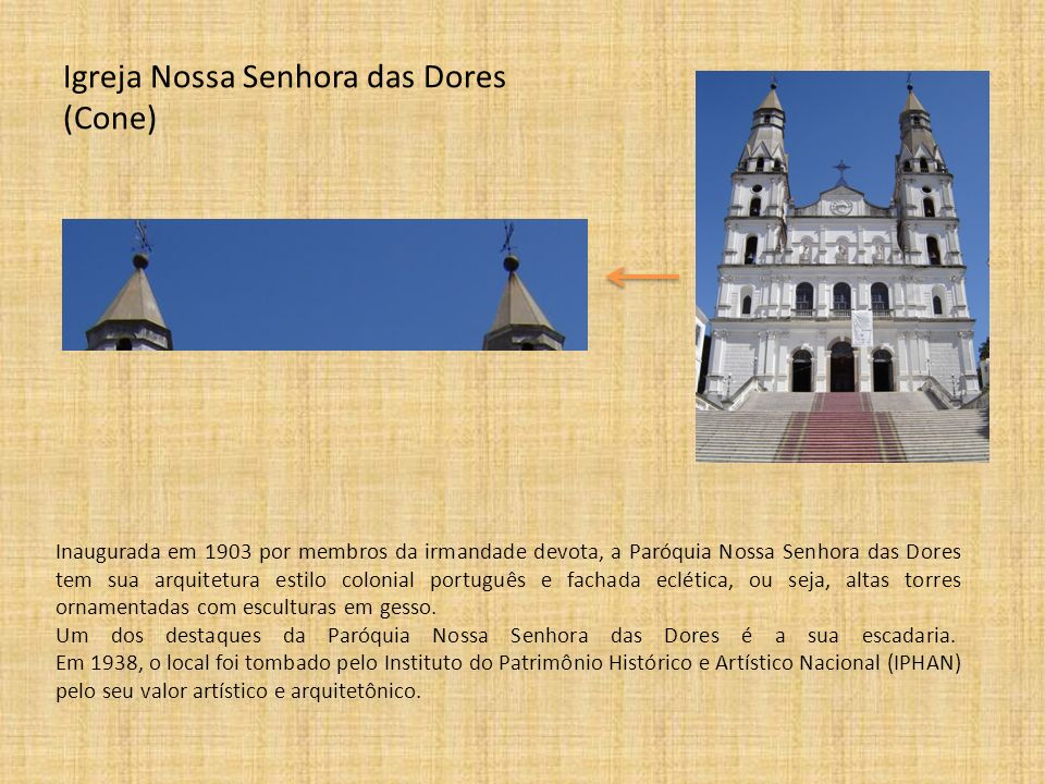 Igreja Nossa Senhora das Dores (Cone)