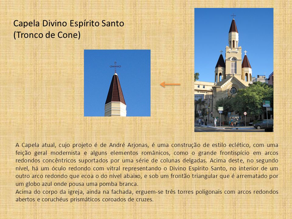 Capela Divino Espírito Santo (Tronco de Cone)