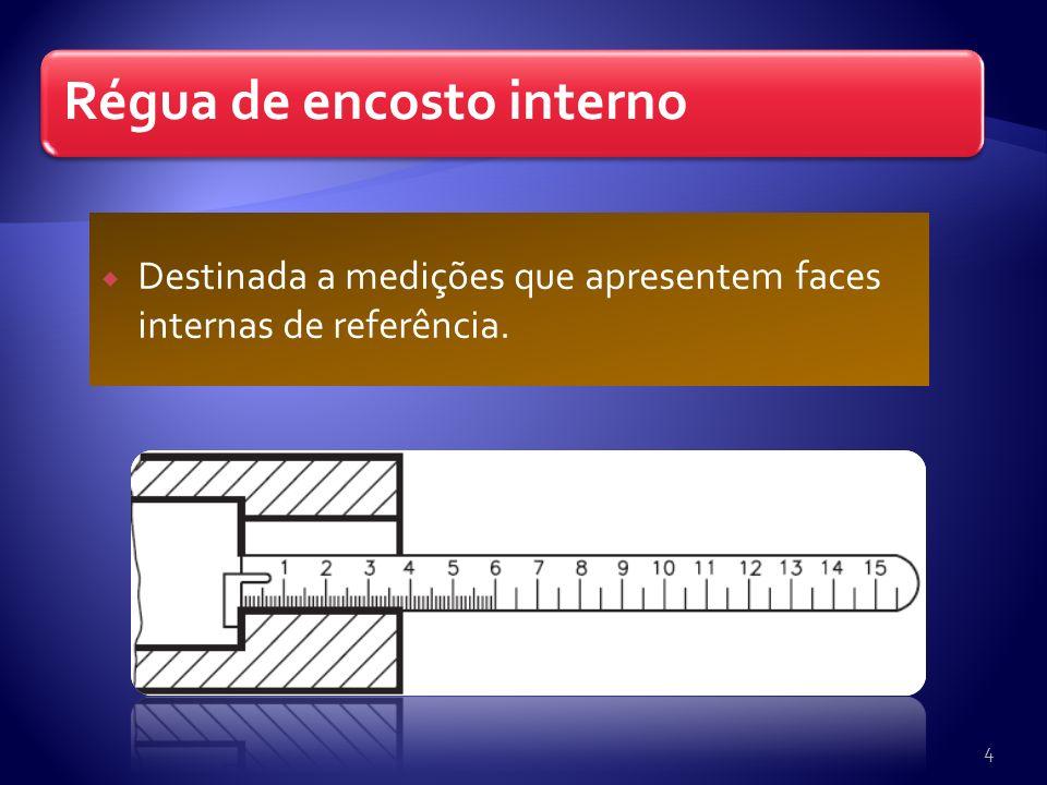 Destinada a medições que apresentem faces internas de referência.